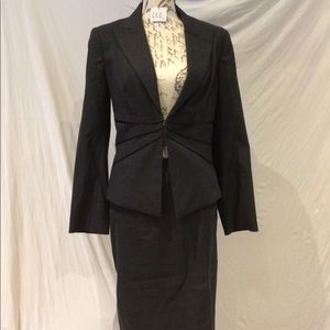 EUC - I N S I G H T NEW YORK charcoal/grey suit